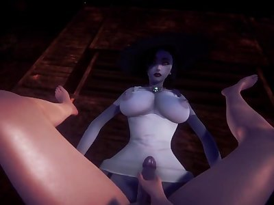 Tall Lady Dimitrescu wants to play with you(Taker POV)/Resident Evil Village