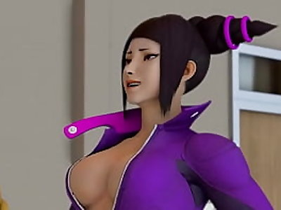 Cammy Gives It Up for Juri