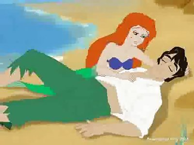 Ariel sucking dick of swooned Eric