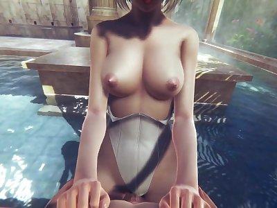 2b fucked or not 2b fucked.../Nier:Automata (3D PORN)
