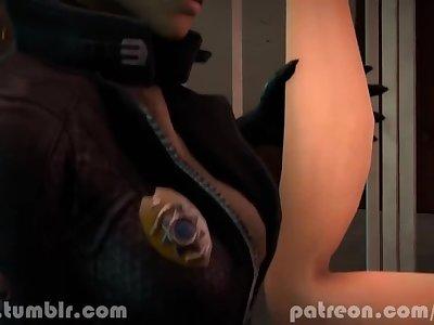 FUCK THE POLICE 3D FUTANARI HENTAI RIKOLO