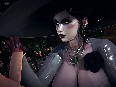 3D Hentai: Lady Dimitrescu FUCKS ME WITH HER HUGE TITS (Resident Evil 8: Village)