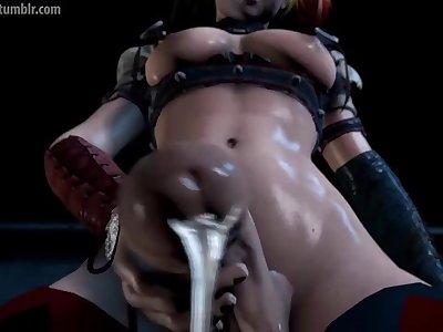 harley quinn futa 3d porn