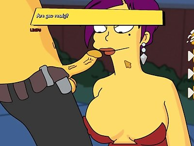 Simpsons - Burns Mansion - Part 8 A Lot Of Sex By LoveSkySanX