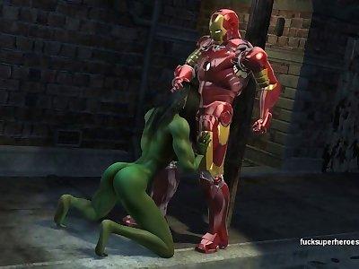 Avengers Porn