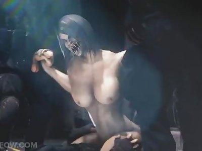 Milina fra Mortal Kombat tabte kampen og overgav sig til tre vindere