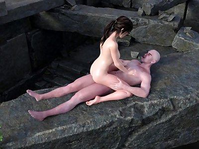 Lara Croft Fucked On Top Of Yamatai â–  Tomb Raider Blender SFM Porn With Sound
