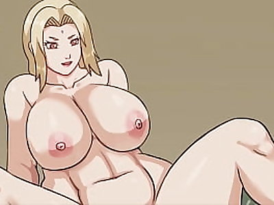 Tsunade uses her big tits to satisfy Konohamaru / MORE ON http://motriael.com/71lV
