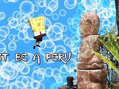 Sandy Knows How to Harden SpongeBob - SpongeKnob Square Nuts SC1