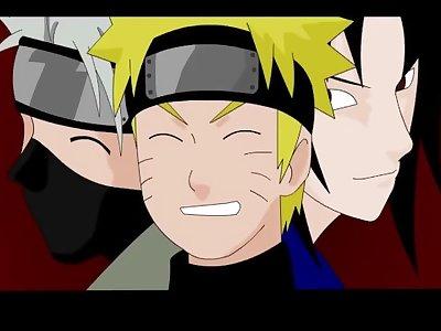 Naruto - Sakura Deep Throat Naruto, Sasuke, Kakashi and More!!!