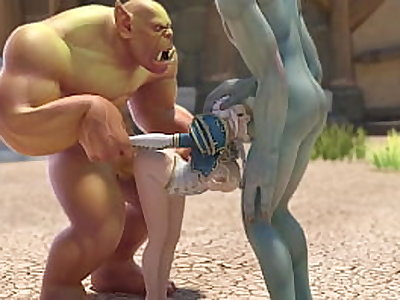 jaina proudmore fucked by huge orc dicks