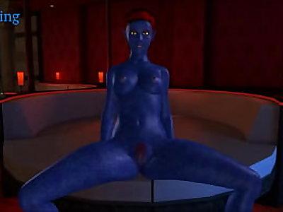 Mystique sex compilation