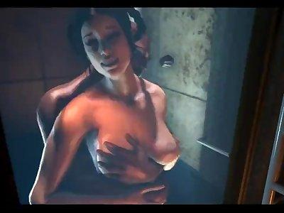 Hot Shower Kitana - Mortal Kombat [NightWanderer]