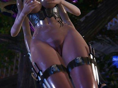 Futa - League of Legends - Kaisa x Katarina - 3D Porn