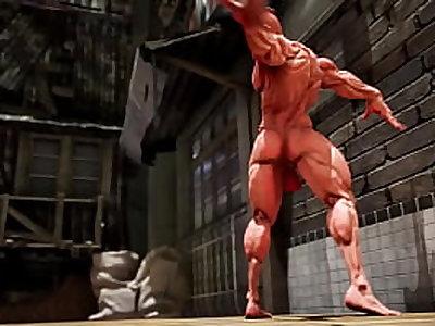 ChunLi in big fight(street fighter parody)