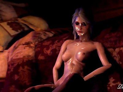 Witcher Futanari porn, Obsession Corruption of the Lodge