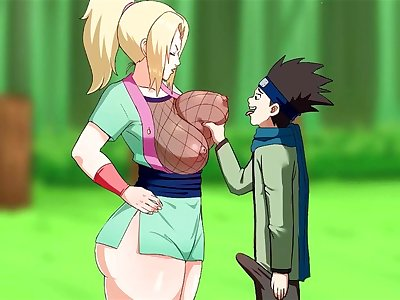 Watch pinkpawg konohamarus special training with the busty tsunade