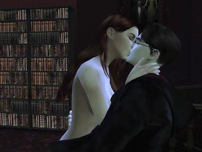 The Scandalous Secret Of Hogwartss _ 3d Hentai ( HP themed )