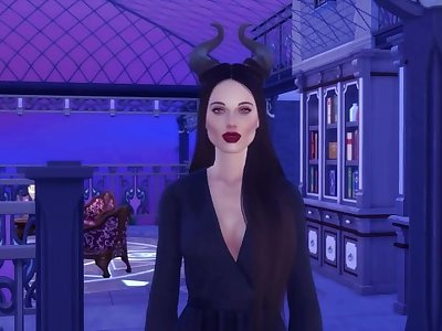 Maleficent Receives All The Pleasure - 3d Hentai - Threesome