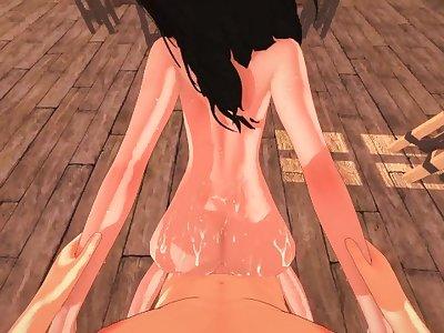 [POV] SEX WITH PIECK FINGER - ATTACK ON TITAN PORN 4K (Shingeki no Kyojin)