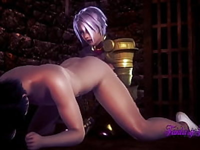 Soul Calibur - Ivy, БДСМ-секс - японская манга, аниме, игра, порно