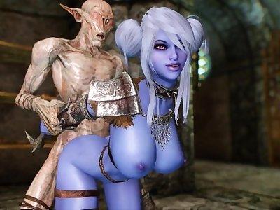 Falmer's Toy 2 - Skyrim Porn