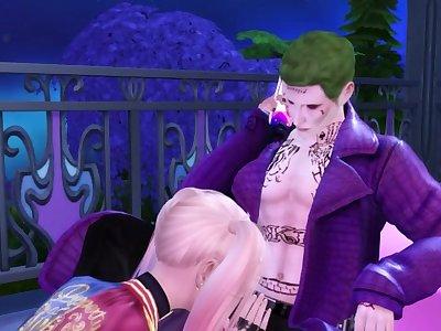 Harley & Joker Had Rough Sex - 3D Hentai