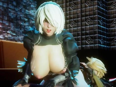 Honey Select 2:Transformation of the giant breast 2B strong debut!