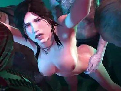 Long 3d Compilation Lara Croft