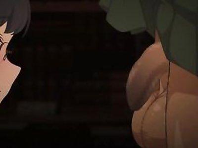 Schoolgirl Sucking Gigantic Cock Gyaru Futanari [Muchin]