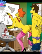 Sex feats of The Simpsons
