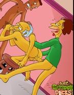 Simpsons Gay Cartoon Action