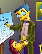 Many people hate their jobs but Waylon Smithers cherishes it coz this guy can fill his boring days with many fascinating fuck pleasures and bright moments