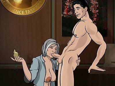 archer sterling sex videos