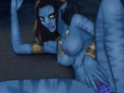 1025236  James Cameron 39 S Avatar Na 39 Vi Animated Hentai