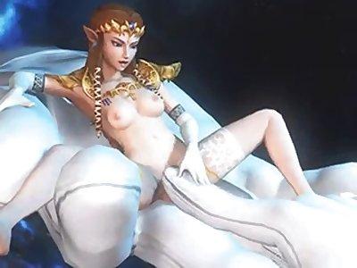 zelda and link porn