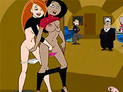 kim possible and ron Hentai