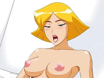 totally spies porn cartoon sex