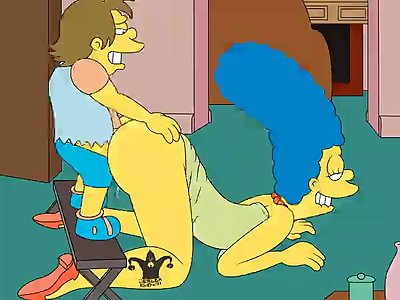 642433  Jester Marge Simpson Nelson Muntz The Hentai
