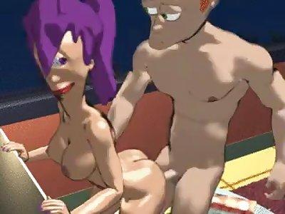 nude futurama