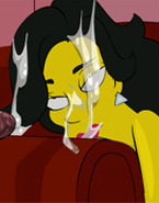 Simpsons on raunchy threesome