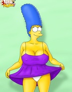 Marge Simpson is a nympho