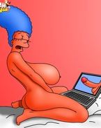 Marge and her big-tittied sissy