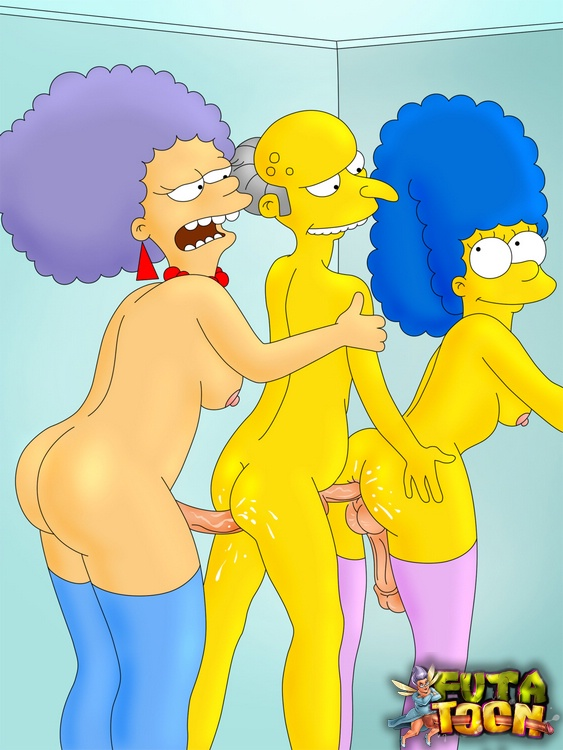 marge naked with big boobs qnd her sis