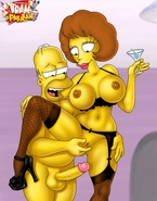 Even the biggest shlongs fit into these porn Simpsons and Jetsons whores' holes