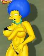 Busty slim vixens from porn Simpsons, Megamind and American Dad impaling themselves on dicks