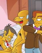 Simpsons Heroes In Gay Anal Porn