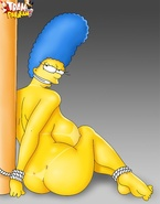 Sexy Marge Simpson and Edna