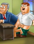 Family Guy hunts cock