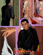 Angelina Jolie spanking her lover's ass and Scarlett Johanson sucking on a fan's cock